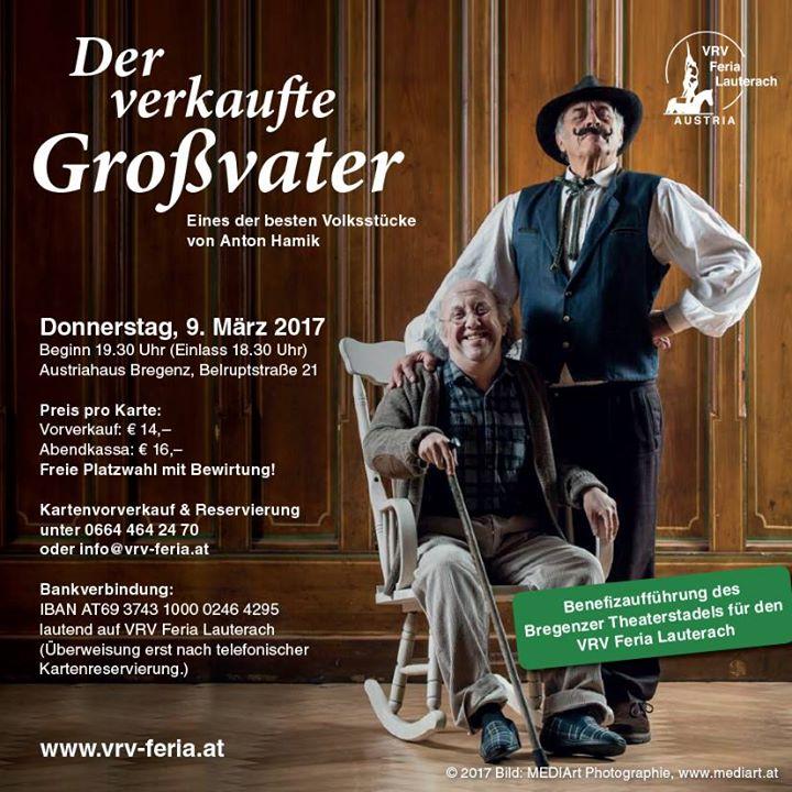 Benefizaufführung des Bregenzer Theaterstadels