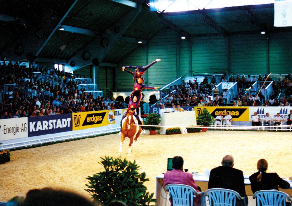 Team Schottland auf Wilster auf der WM in Aachen 2000